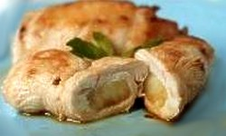 filetes de frango recheados