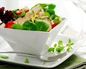 Salada fria de Delícias do Mar